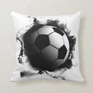 Coussin Le football