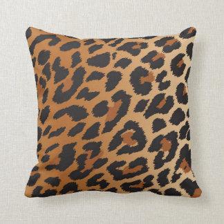 Coussin Le guépard de léopard repère le motif sauvage de