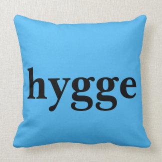 Coussin Le hygge danois de langue signifie le confort
