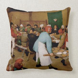 Coussin Le mariage rural par Pieter Bruegel l'aîné