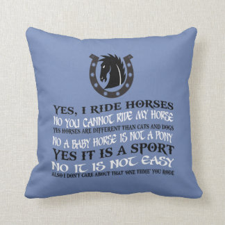 Coussin Le meilleur cheval jamais !