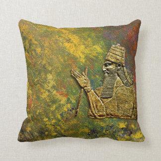 Coussin Le Roi assyrien Pillow