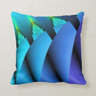 Coussin léger de sofa de bougie : Bleu, turquoise,