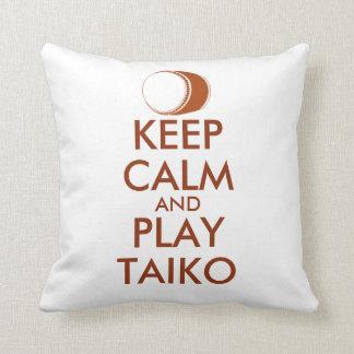 Coussin Les cadeaux de Taiko gardent la coutume de tambour
