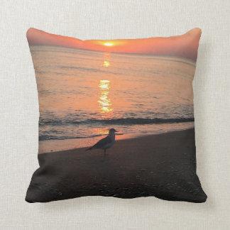 Coussin Lever de soleil de plage