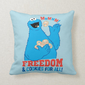 Coussin Liberté et biscuits pour tous !