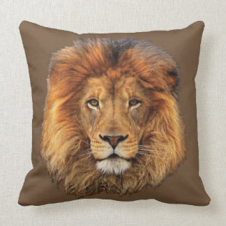 Coussin Lion africain