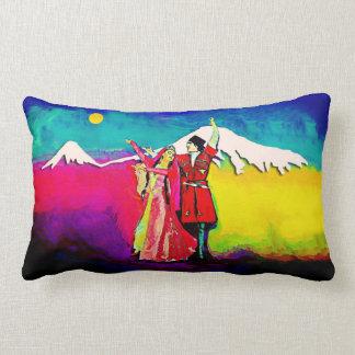 """Coussin lombaire 13"""" de danseurs arméniens X.21 """""""