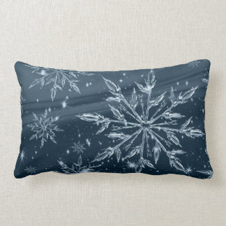 Coussin lombaire de coton de flocons de neige