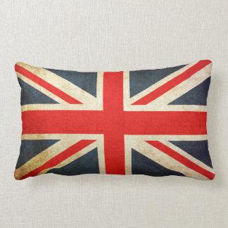Coussin lombaire de drapeau britannique vintage