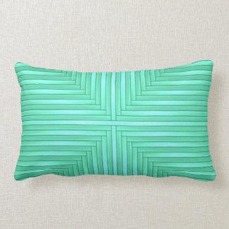 Coussin lombaire élégant élégant moderne vert en