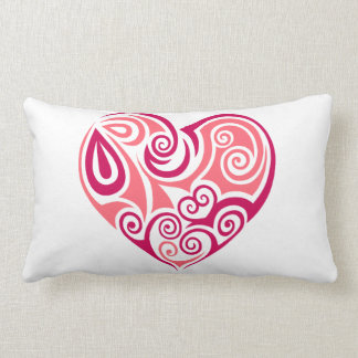 Coussin lombaire - grand coeur