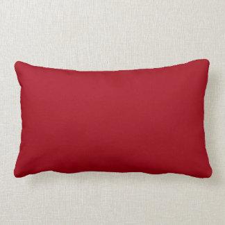 Coussin lombaire rouge de canneberge