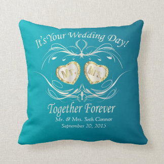 Coussin M. et Mme Together Forever | personnalisent