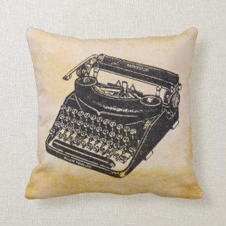Coussin Machine à écrire silencieuse vintage de luxe