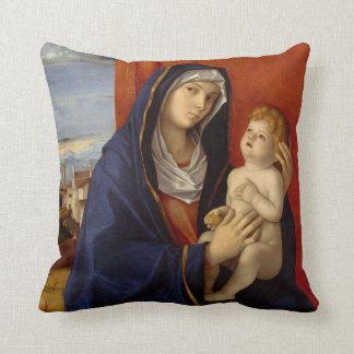 Coussin Madonna et enfant, circa 1485