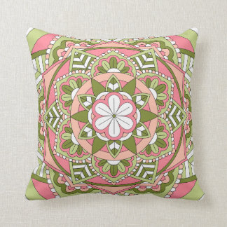 Coussin Mandala floral coloré 061117_1