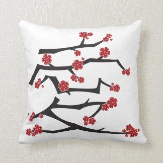 Coussin Mariage chinois de Sakura de fleurs de cerisier de