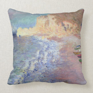 Coussin Matin de Claude Monet | chez Etretat