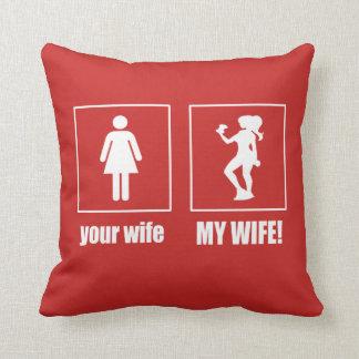 Coussin Mon épouse