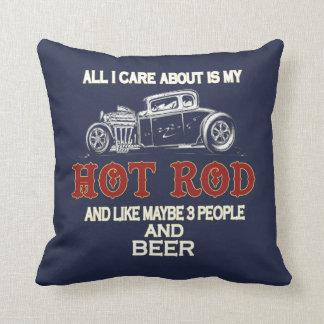 Coussin Mon hot rod