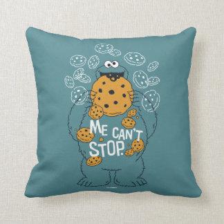 Coussin Monstre de biscuit du Sesame Street | - je ne peut