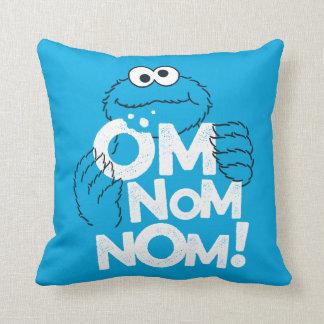Coussin Monstre de biscuit | OM Nom Nom !