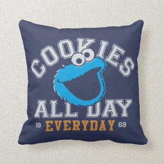 Coussin Monstre de biscuit quotidien