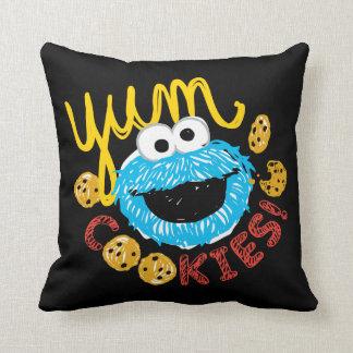 Coussin Monstre de biscuit Yum