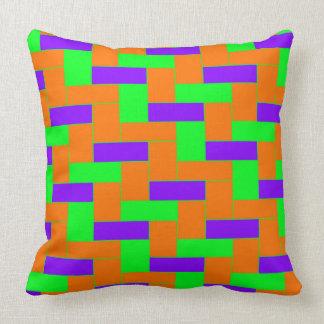 Coussin Motif coloré sans couture d'oblong symétrique