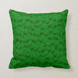 Coussin mou décoratif de douche noire verte
