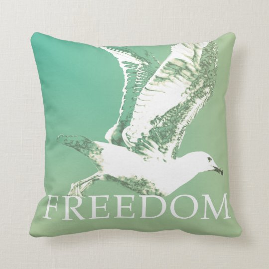 Coussin mouette freedom vintage