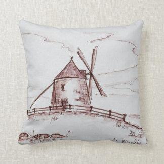 Coussin Moulin à vent | Pontorson de Le Moulin de Moidrey