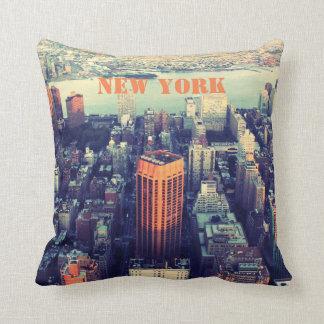 Coussin New York, Etats-Unis