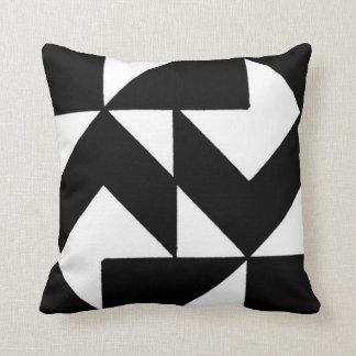 noir blanc coussins noir blanc housses de coussins. Black Bedroom Furniture Sets. Home Design Ideas