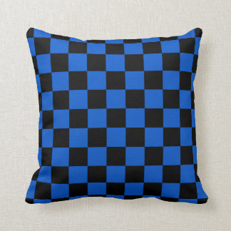 Coussin Noir et bleu - club italien du football - inter