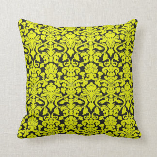 jaune et noir coussins. Black Bedroom Furniture Sets. Home Design Ideas