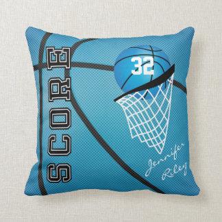 Coussin Nom du basket-ball | do-it-yourself de sport de