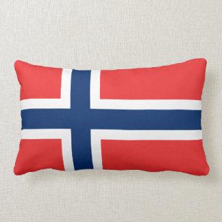 Coussin norvégien de drapeau