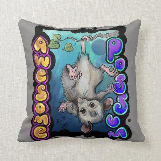 Coussin Opossum impressionnant !