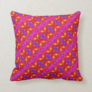 Coussin Orange Butterfly - Throw Pillow