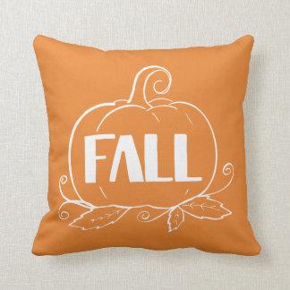 Coussin orange de l'automne |