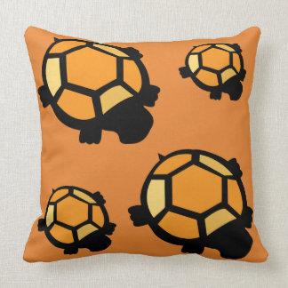 Coussin orange de tortue