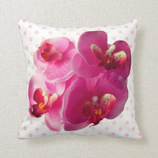 Coussin Orchidée