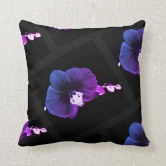 Coussin Orchidée nocturne