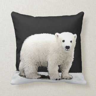 Coussin Ours blanc CUB