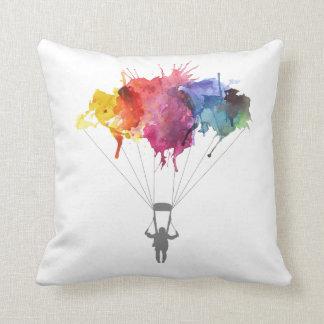 Coussin Parachutiste, parachute. Sport de parachutisme.