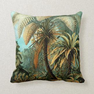 Coussin Paysage tropical avec le palmier