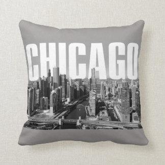 Coussin Paysage urbain de Chicago