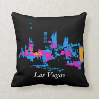 Coussin Paysage urbain de Las Vegas